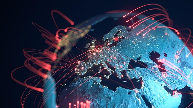 Échange de données, Pandémie - image d'illustration